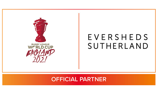 Eversheds Sutherland appointed as Official Legal Services Partner of Rugby League World Cup 2021