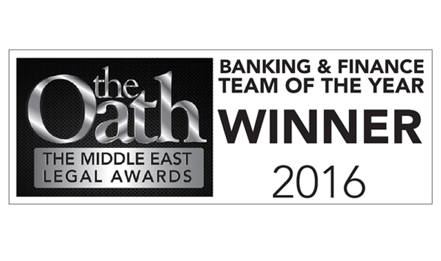 Eversheds Sutherland wins Banking and Finance Team of the Year