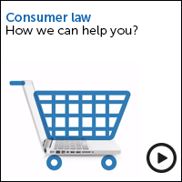 Consumer law how we can help - view the video