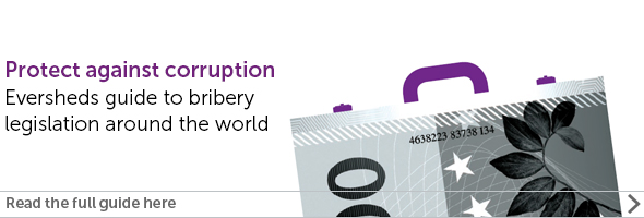 International bribery guide - view the full report.