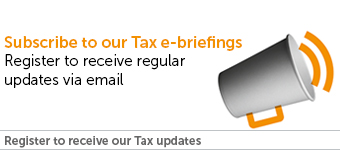 Subscribe to get tax legal updates and briefings